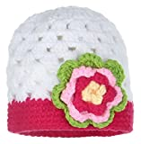 GEMVIE Baby Strickmütze Fotografie Prop Kostüm Kappe Kopf 37-39cm Blumen