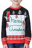 BesserBay Weihnachtspullover Kinder Jungen Jungen Weihnacht Sweatshirts T Shirts Langarm Shirts...