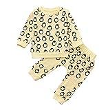 Doing1 2 stücke Kleinkind Baby Jungen Mädchen Kleidung Set Pinguin Print Langarm Sweatshirt Tops +...