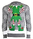 Noroze Herren Damen Unisex Neuheit Weihnachten Pullover Strickpullover