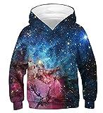 Idgreatim Unisex Hoodie Pullover Lustige 3D Gedruckt Mit Kapuze Pullover Jumper Sweatshirts für...