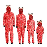Weihnachten Familie Pyjamas Outfit Schlafanzug Nachtwäsche Damen Herren Baby Säugling Family...