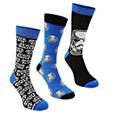 3x Paar Herren oder Jungen Socken Offizieller Disney Star Wars EP7 Charakter, Socken/UK 6–11,...