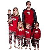 YaoDgFa Ugly Weihnachten Pyjama Schlafanzug Familie Weihnachts Xmas Weihnachtspyjama Nachtwäsche...