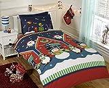Rapport Santa 's Grotto Kids X-Mas Bettwäsche-Set, mehrfarbig, Kleinkind