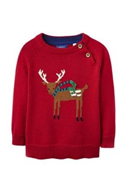 3D Weihnachtspullover Rentier - 9-12 Monate