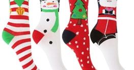 Damen Weihnachtssocken 3er-Pack
