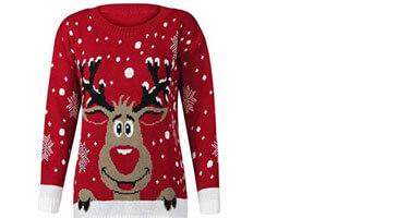 Weihnachtspullover für Damen ღ kuschelig warme Pullis online kaufen 725880a0ba