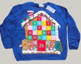 Adventskalender Weihnachtspullover