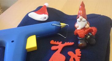 on sale 55a8d cbfa4 DIY Weihnachtspulover selber gestalten + Anleitung + ...