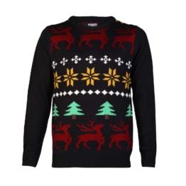 Nordic Rentier Weihnachts Pullover