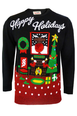Xmas Pullover Happy Holidays