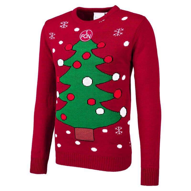 Fußball Weihnachtspullover ⚽ FC / Vereinspullover mit Weihnachtsmotiv