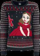 Alice im Wunderland Weihnachtspullover