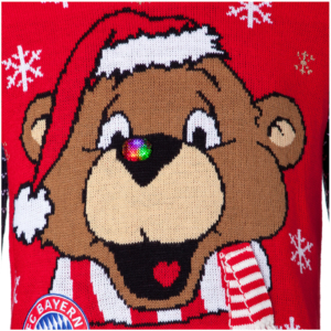 Bayern München Weihnachtspullover Bernie
