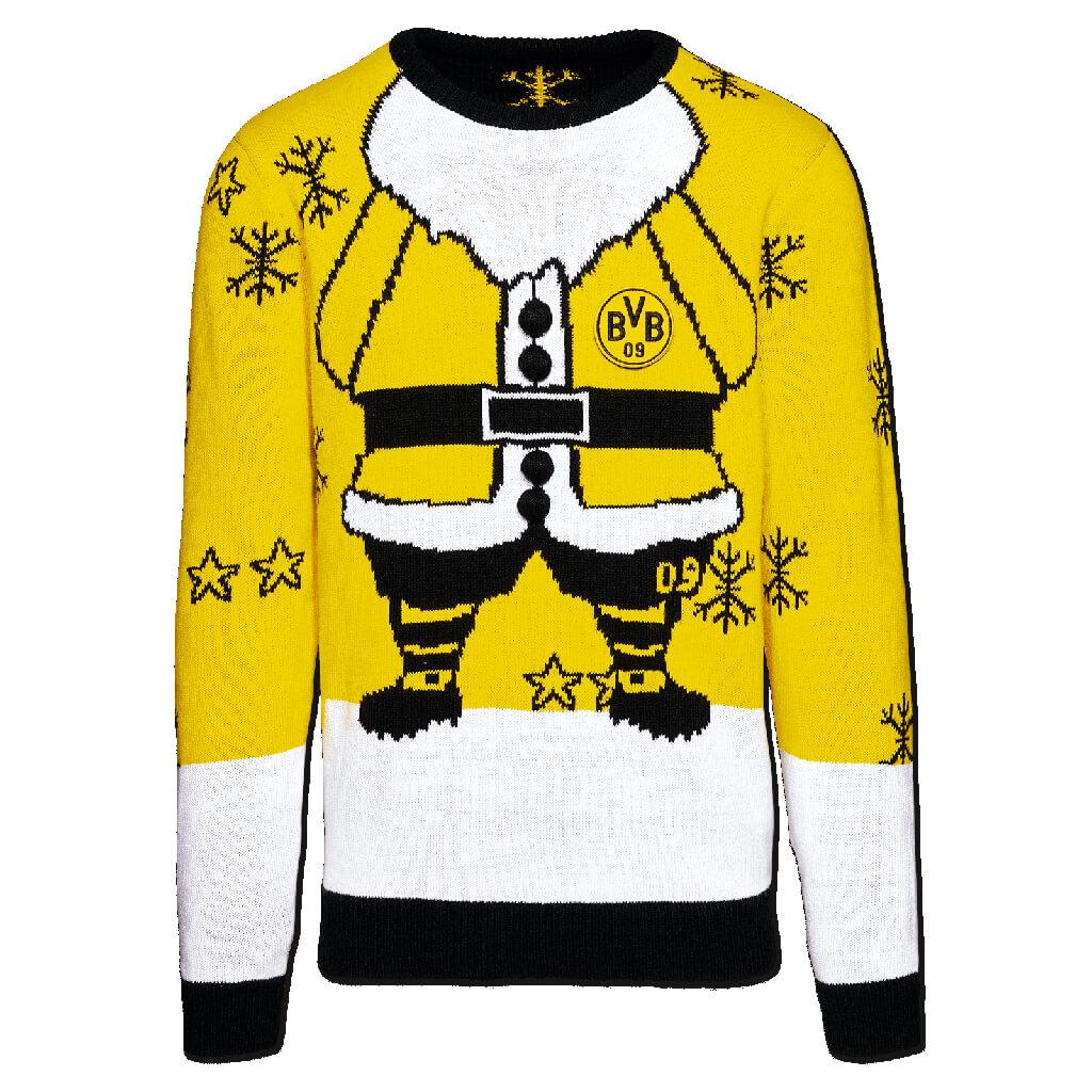 bvb weihnachtspullover