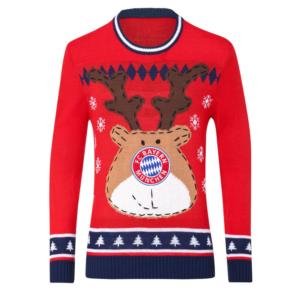FC Bayern Weihnachtspullover