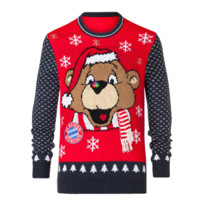 FCB Weihnachtspulli