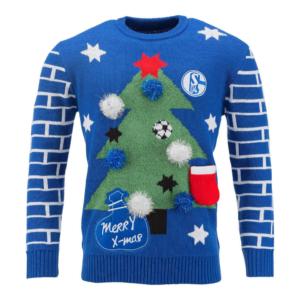 FC Schalke Weihnachtspullover Tannenbaum