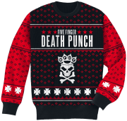 Five Finger Death Punch Holiday Sweater 2016