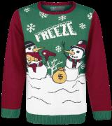 Freeze Weihnachtspulli Schneemänner