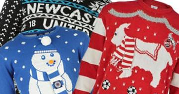 Fußball Weihnachtspullover FC