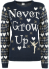 Never Grow Up - Strickpullover