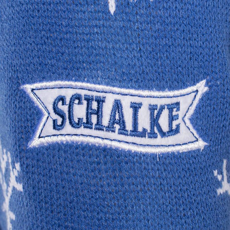 Schalke Tannenbaum.Fußball Weihnachtspullover Fc Vereinspullover Mit Weihnachtsmotiv