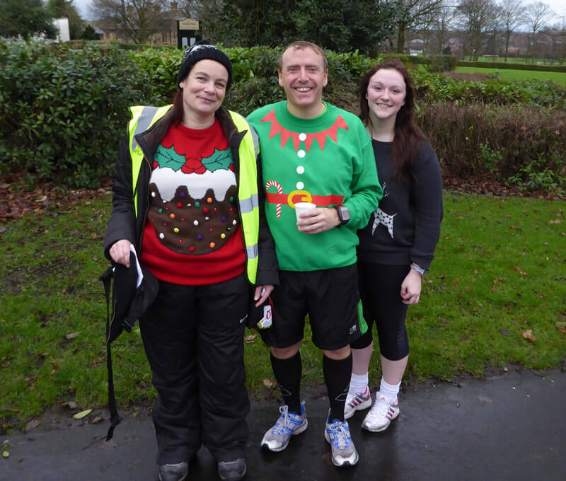 Ugly Christmas Sweater Day und Run