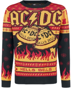 AC/DC Christmas Sweater