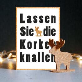 Ausgefallene Weihnachtskarten