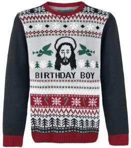 Birthday Boy Weihnachtspullover
