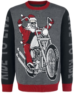 Live To Ride christmas sweater