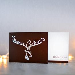 Moderne Weihnachtskarten