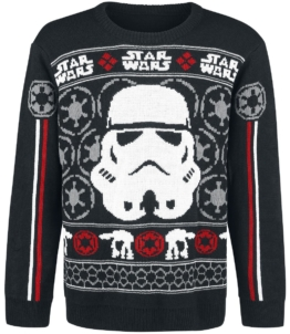 Star Wars Classic Trooper Strick-Sweater multicolour