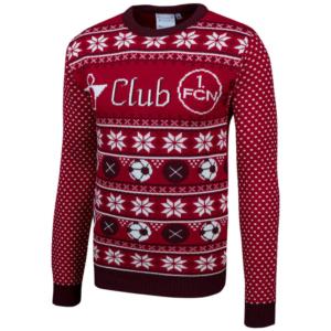1. FC Nürnberg Weihnachtspulover