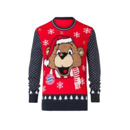 FC Bayern Kinder Weihnachtspullover 2017