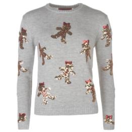 Xmas ** Star **  Weihnachts Winter Pullover Strickpullover Damen Gr. XS - 2XL