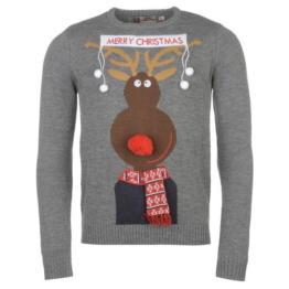 Xmas ** Star **  Weihnachts Winter Pullover Strickpullover Herren Gr. S - 2XL