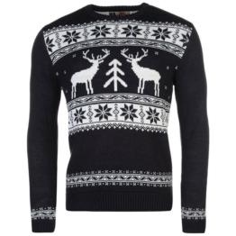 Xmas ** Star **  Weihnachts Winter Pullover Strickpullover Herren Gr. XS - 2XL