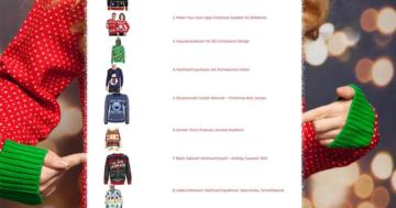 Top10 Weihnachtspullover 2017