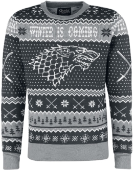 Game Of Thrones Weihnachtspullover Winter Is Coming
