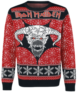 Iron Maiden Christmas Sweater