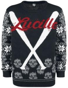 The Walking Dead Weihnachtspullover Lucille