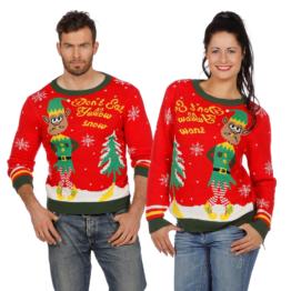 Elf Schnee Weihnachtspullover