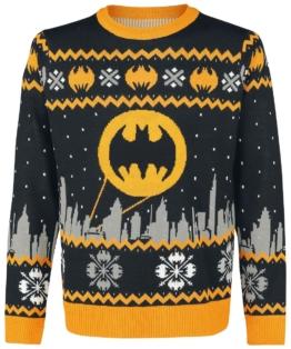 Batman Gotham Weihnachtspullover
