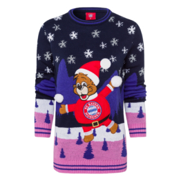 Damen Christmas Sweater FC Bayern 2018