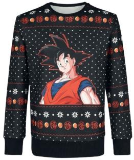 Dragon Ball Z Son Goku Weihnachtspulli