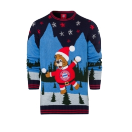Kinder Christmas Sweater FC Bayern 2018