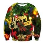 Merry Christmas Pullover mit Weihnachtsmotiv
